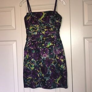 BCBG strapless special occasion size 0